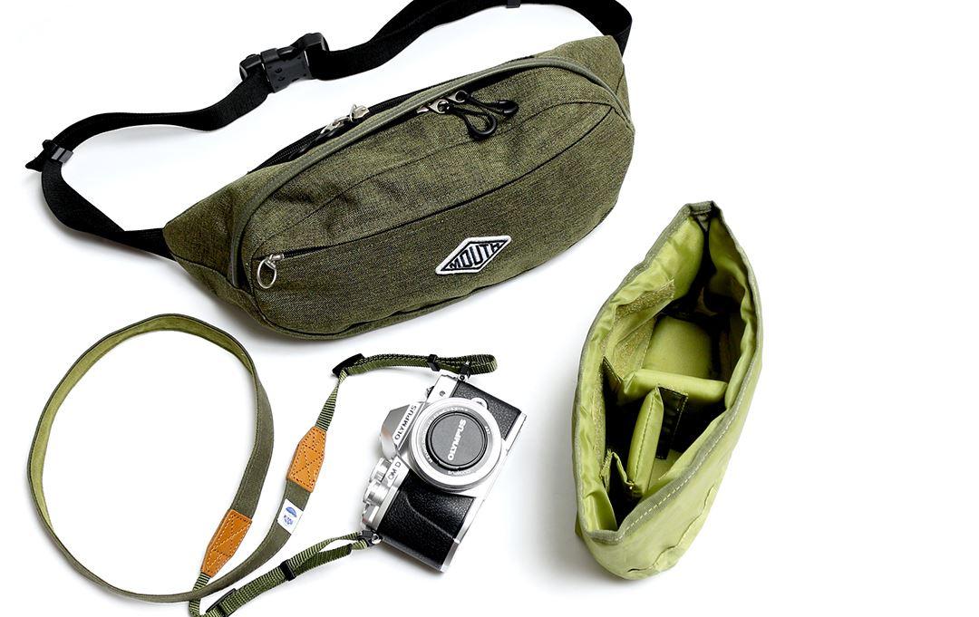 ウエストバッグ型カメラバッグ1