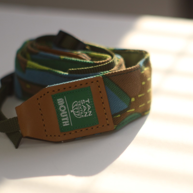 【予約 9月27日発売】TANSAN TEXTILE 40mm Delicious Camera Strap  (GREEN)