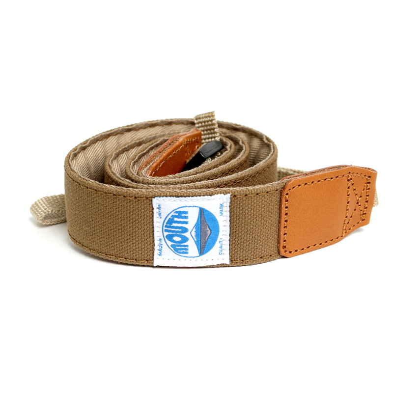 【OUTLET SALE】 30mm Delicious Camera Strap (L.BROWN)