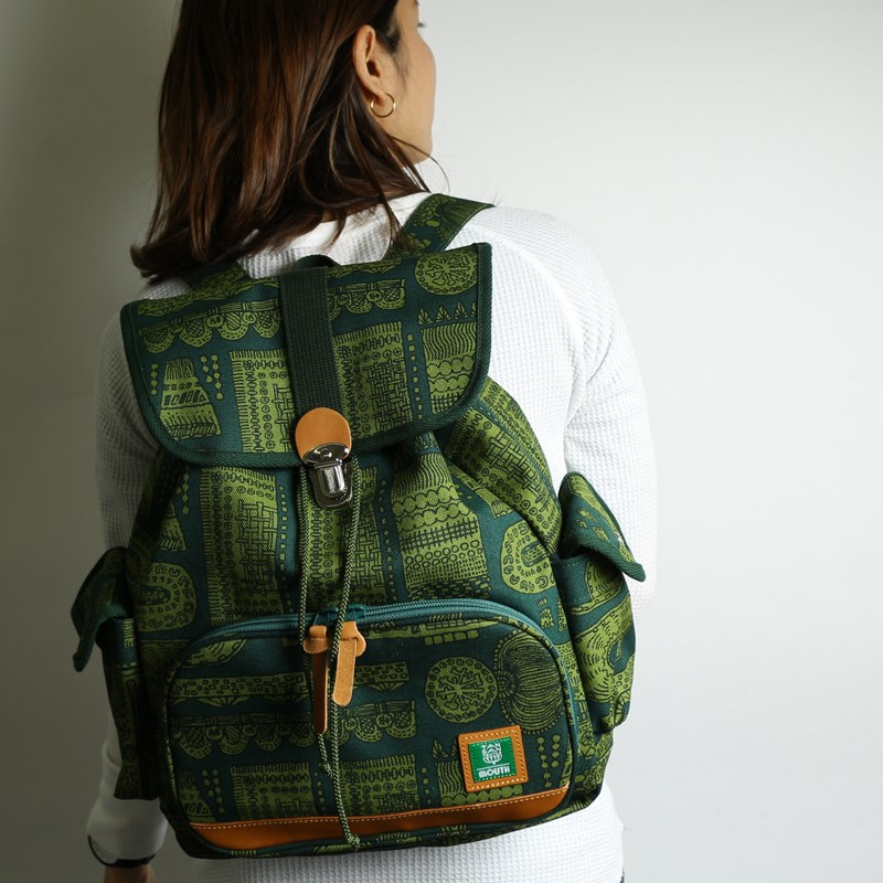 【TANSAN TEXTILE】 Delicious Tackle Ruck (GREEN)