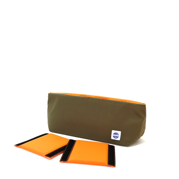 Delicious Case (KHAKI/ORANGE)