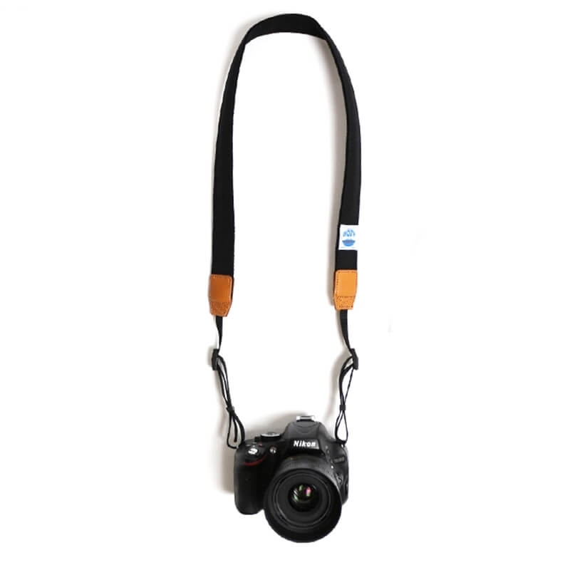30mm Delicious Camera Strap CORDURA (BLACK)