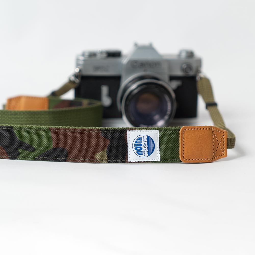 30mm Delicious Camera Strap CORDURA (CAMO)