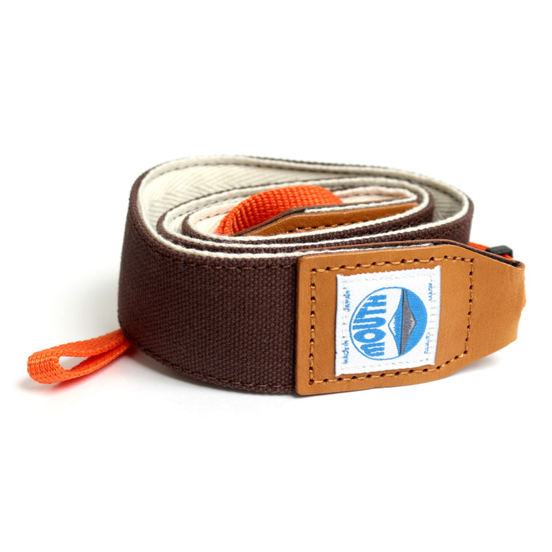 【OUTLET SALE】 40mm Delicious Camera Strap (CACAO)