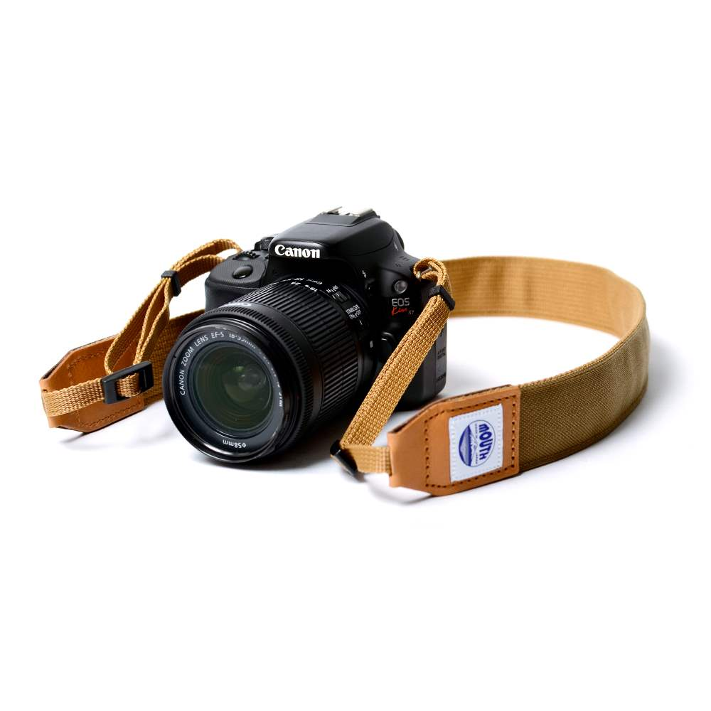 40mm Delicious Camera Strap CORDURA (COYOTE)