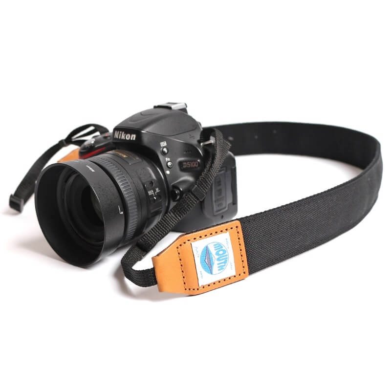 40mm Delicious Camera Strap CORDURA (BLACK)