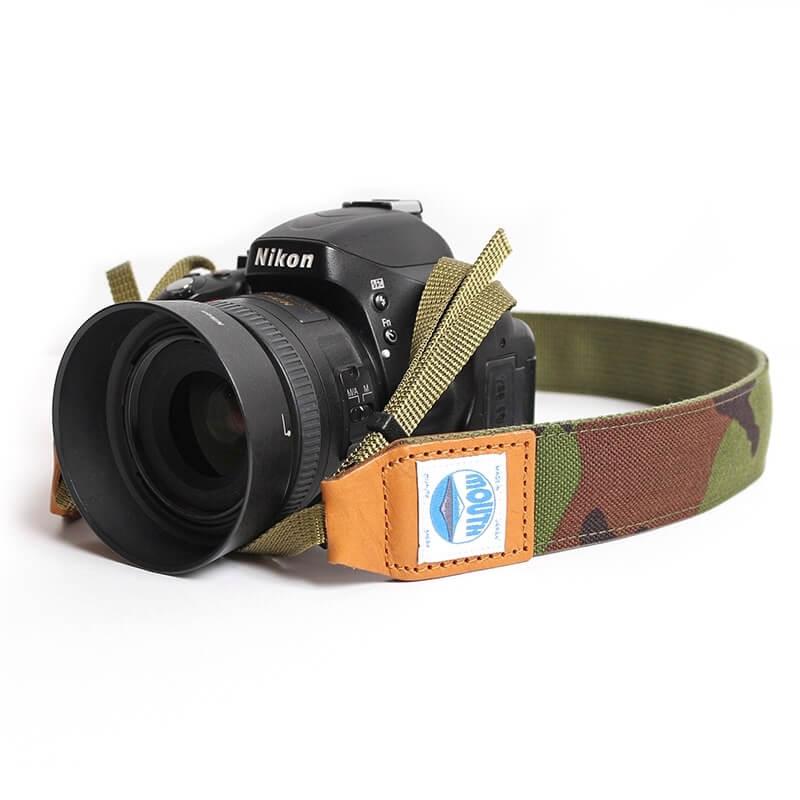 40mm Delicious Camera Strap CORDURA (CAMO)