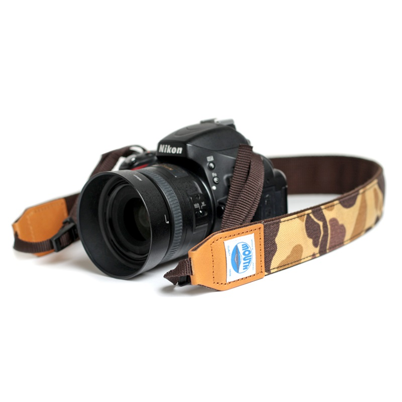 <取扱店舗限定> 40mm Delicious Camera Strap CORDURA (DUCK CAMO)