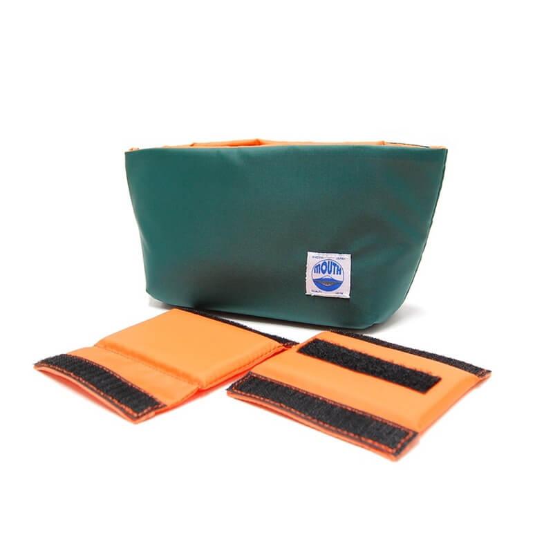 Delicious Case Mini (GREEN/ORANGE)