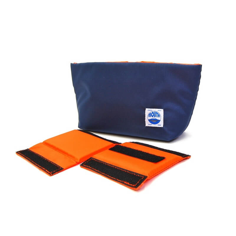 Delicious Case Mini (NAVY/ORANGE)