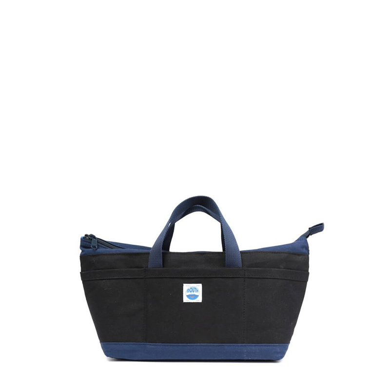 Delicious Tote Case (BLACK/NAVY)