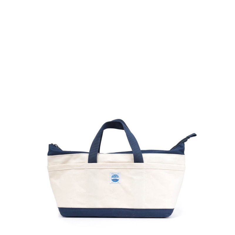 Delicious Tote Case (NATURAL/NAVY)