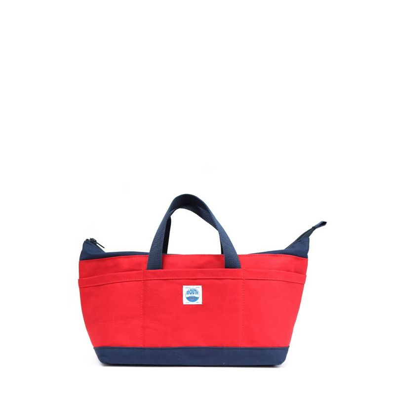 【OUTLET SALE】 Delicious Tote Case (RED/NAVY)