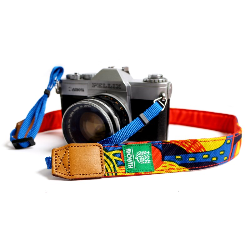 TANSAN TEXTILE 30mm Delicious Camera Strap  (ORANGE)