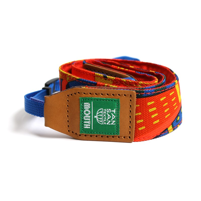 TANSAN TEXTILE 40mm Delicious Camera Strap  (ORANGE)