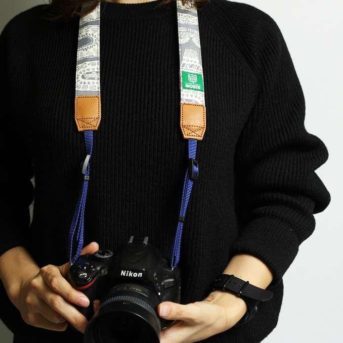 TANSAN TEXTILE 30mm Delicious Camera Strap  (GRAY)