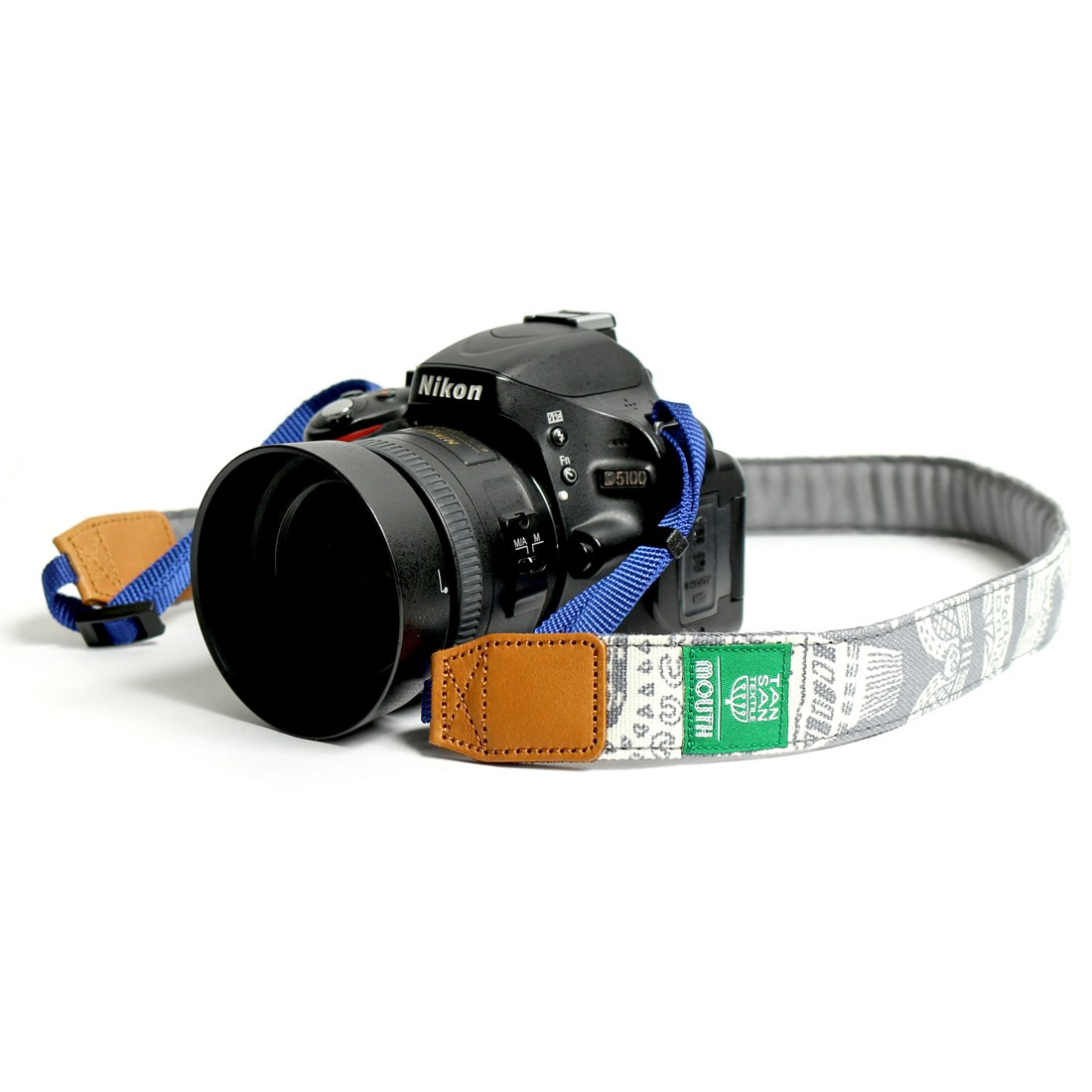 TANSAN TEXTILE 30mm Delicious Camera Strap  (GRAY)
