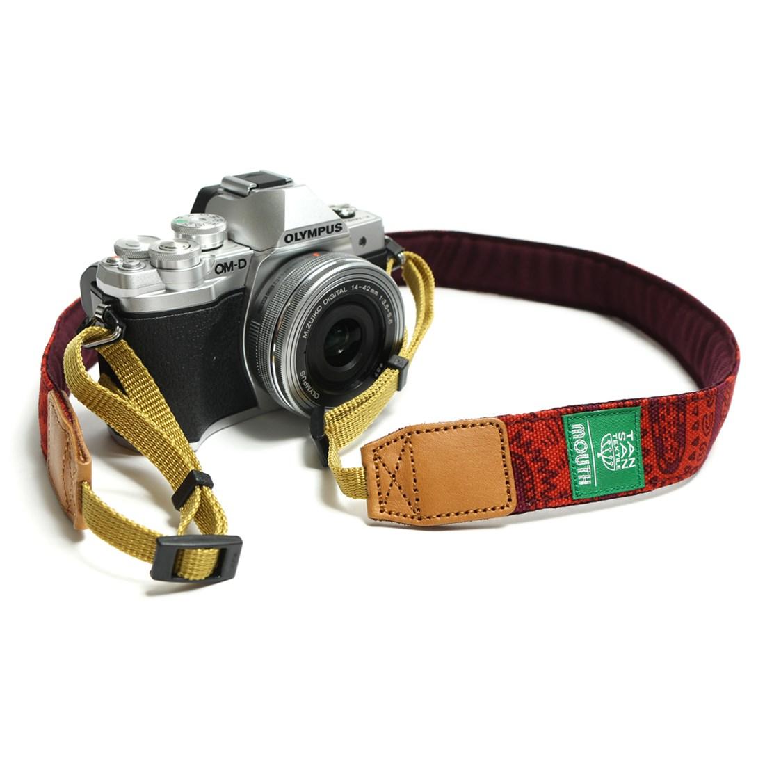 TANSAN TEXTILE 30mm Delicious Camera Strap  (PURPLE)