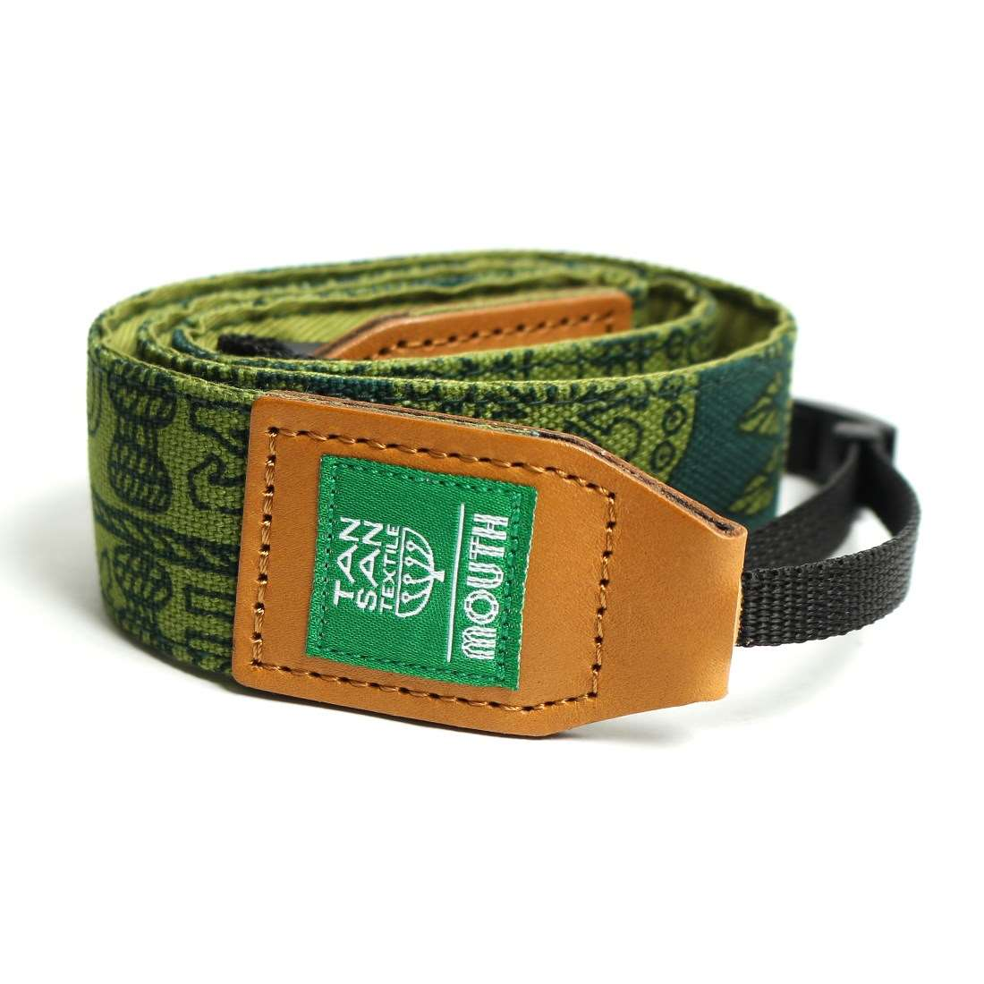 TANSAN TEXTILE 40mm Delicious Camera Strap  (GREEN)