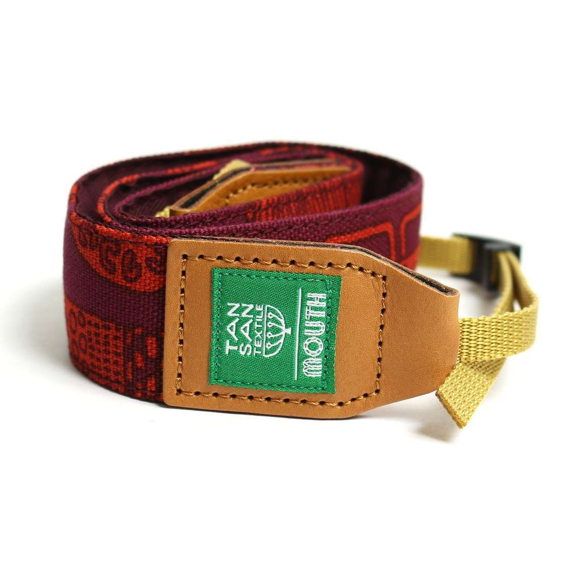 TANSAN TEXTILE 40mm Delicious Camera Strap  (PURPLE)