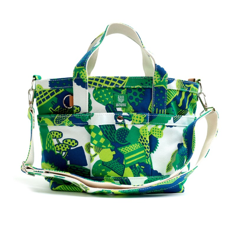 【OUTLET SALE】 TANSAN TEXTILE Delicious 104 TOTE Sサイズ (GREEN)