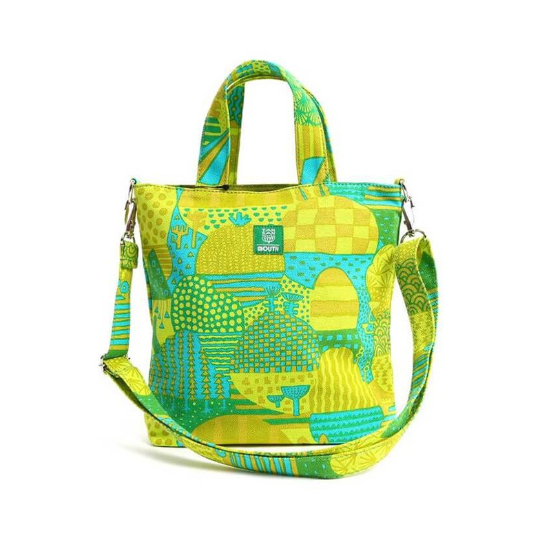 【OUTLET SALE】 TANSAN TEXTILE Delicious 202 TOTE ミニ (GREEN)