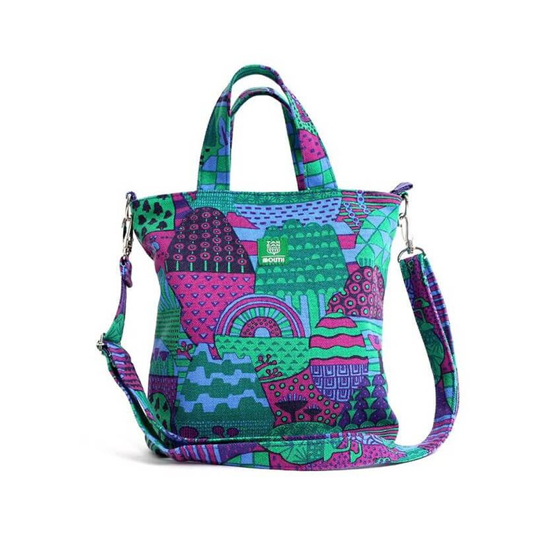 【OUTLET SALE】 TANSAN TEXTILE Delicious 202 TOTE ミニ (PURPLE)
