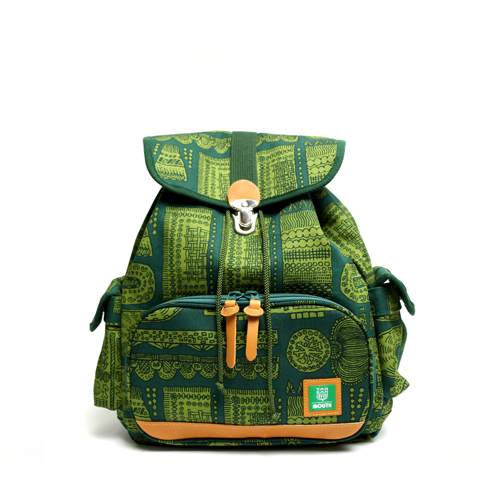 【OUTLET SALE】 TANSAN TEXTILE Delicious Tackle Ruck (GREEN)