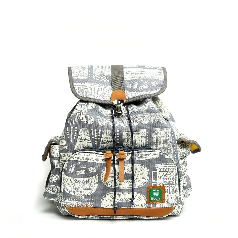 TANSAN TEXTILE Delicious Tackle Ruck (GRAY)