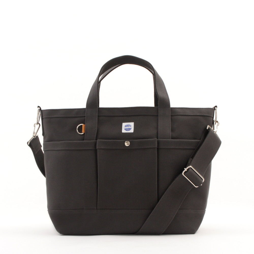 Delicious 106 TOTE Mサイズ (CHARCOAL)