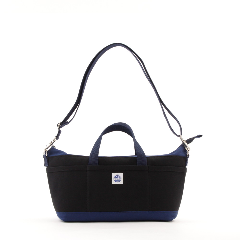 Delicious Tote Case + (BLACK/NAVY)